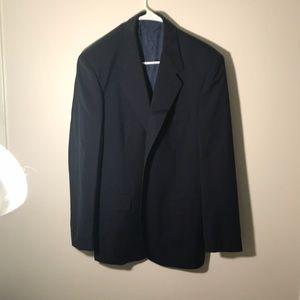 Pierre Cardin wool-mohair blazer